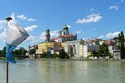 Urlaub an der Dreiflüssestadt Passau